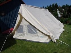 Neues Zeltmaterial